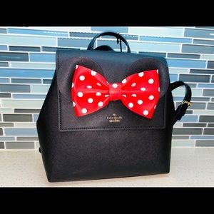 Kate Spade x Disney Minnie Mouse backpack